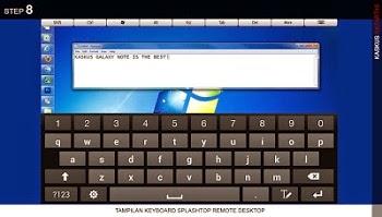 Cara Akses Atau Menjalankan Komputer/PC/Laptop Melalui Smartphone Android Dengan Aplikasi Splashtop Remote