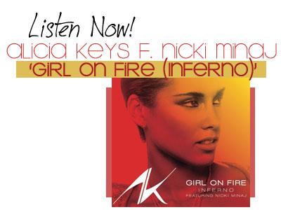 Download Lagu Alicia Keys ft Nicki Minaj – Girl On Fire