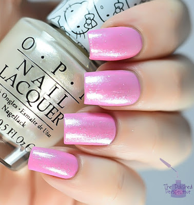 OPI Look at My Bow and OPI Kitty White