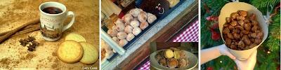 Weihnachtsmarktbesuch mit Glühwein, Quarkbällchen und gebrannten Mandeln von Madeleine