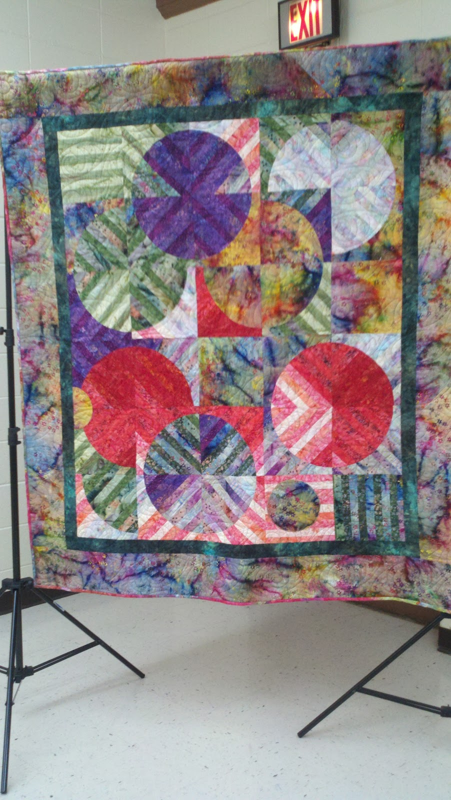 Dancing bear quilting studio dreaming of space for Space shuttle quilt