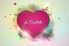 Une déclaration d'amour romantique