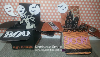 Halloween pop up box card