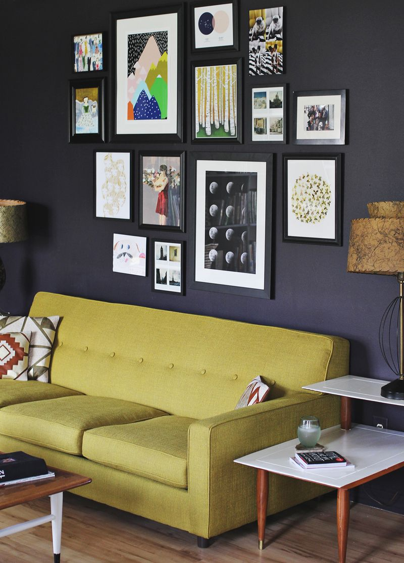 Design Home Pictures: Framed Art Pictures Into Your Living Room Decor