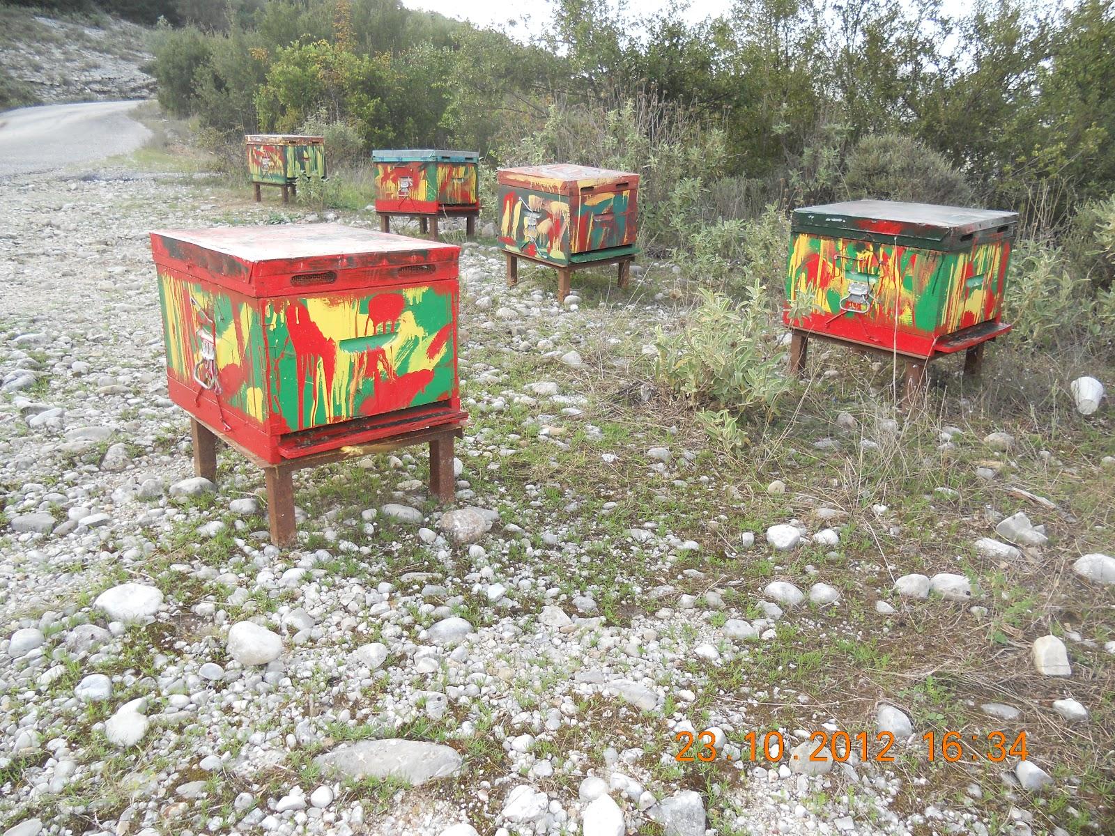 κλοπή μελισσιών