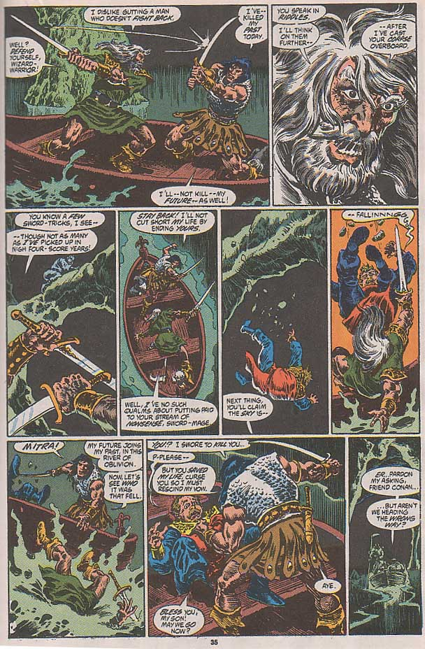 Conan the Barbarian (1970) Issue #250 #262 - English 29
