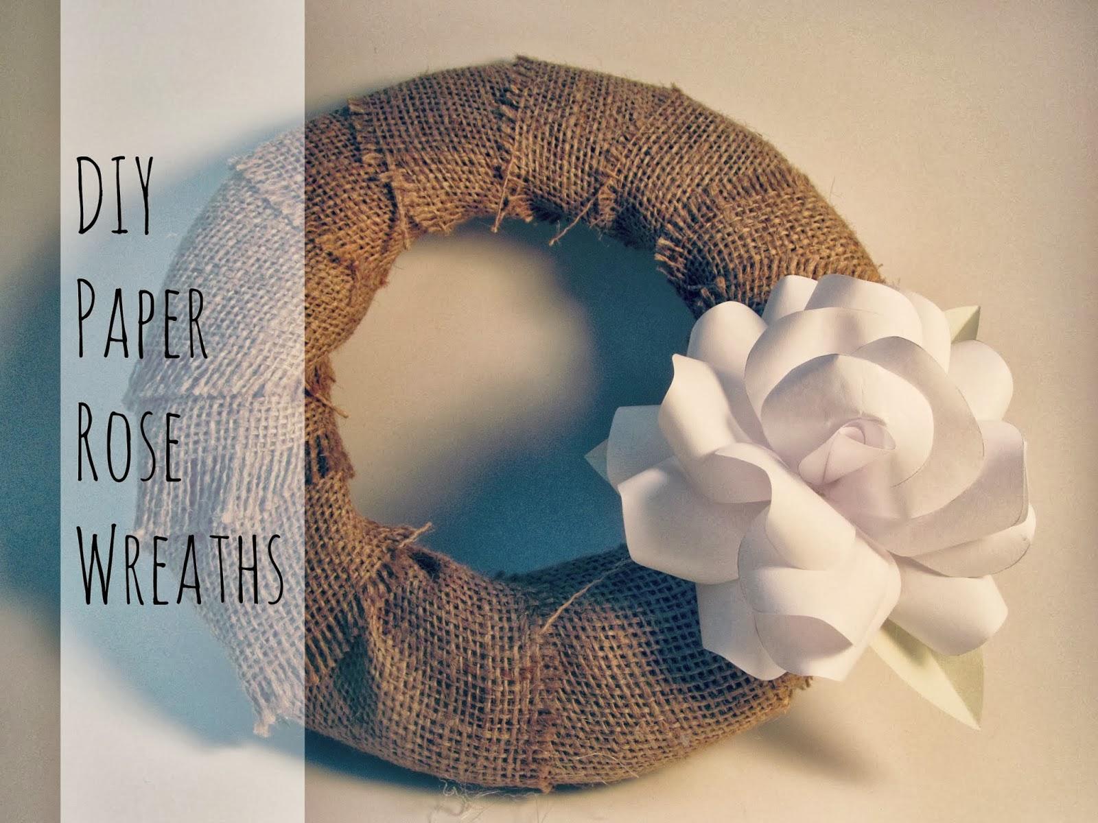 http://elcrumbo.blogspot.com/2014/01/diy-paper-rose-wreaths.html