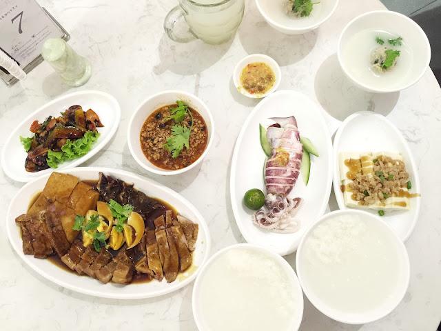 ChaoZhou (Teochew) Porridge Food Review