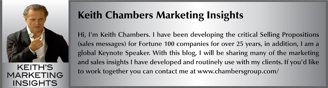Keith Chambers Marketing Insights