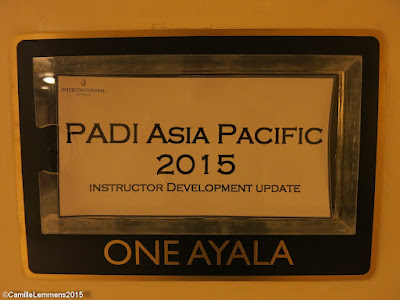 PADI Instructor Development Update June 2015 in Manila, Philippines