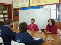 ADRA ประชุมฝึกอาชีพให้ผู้อพยพลี้ภัยสงครามจากพม่า