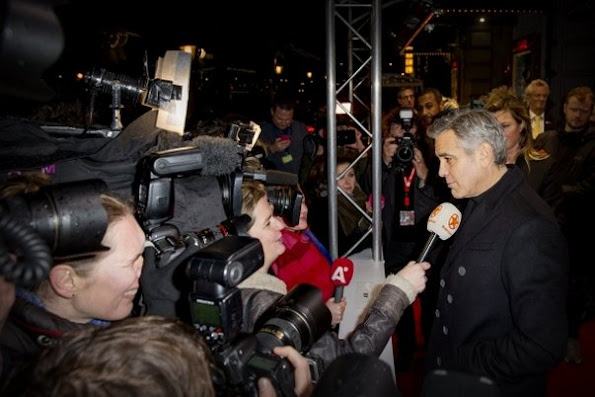 George Clooney in Amsterdam - Princess Mabel, Princess Laurentien and Princess Viktoria de Bourbon de Parme attended the Goed Geld Gala (Good Money Gala of the Postcode Lottery)