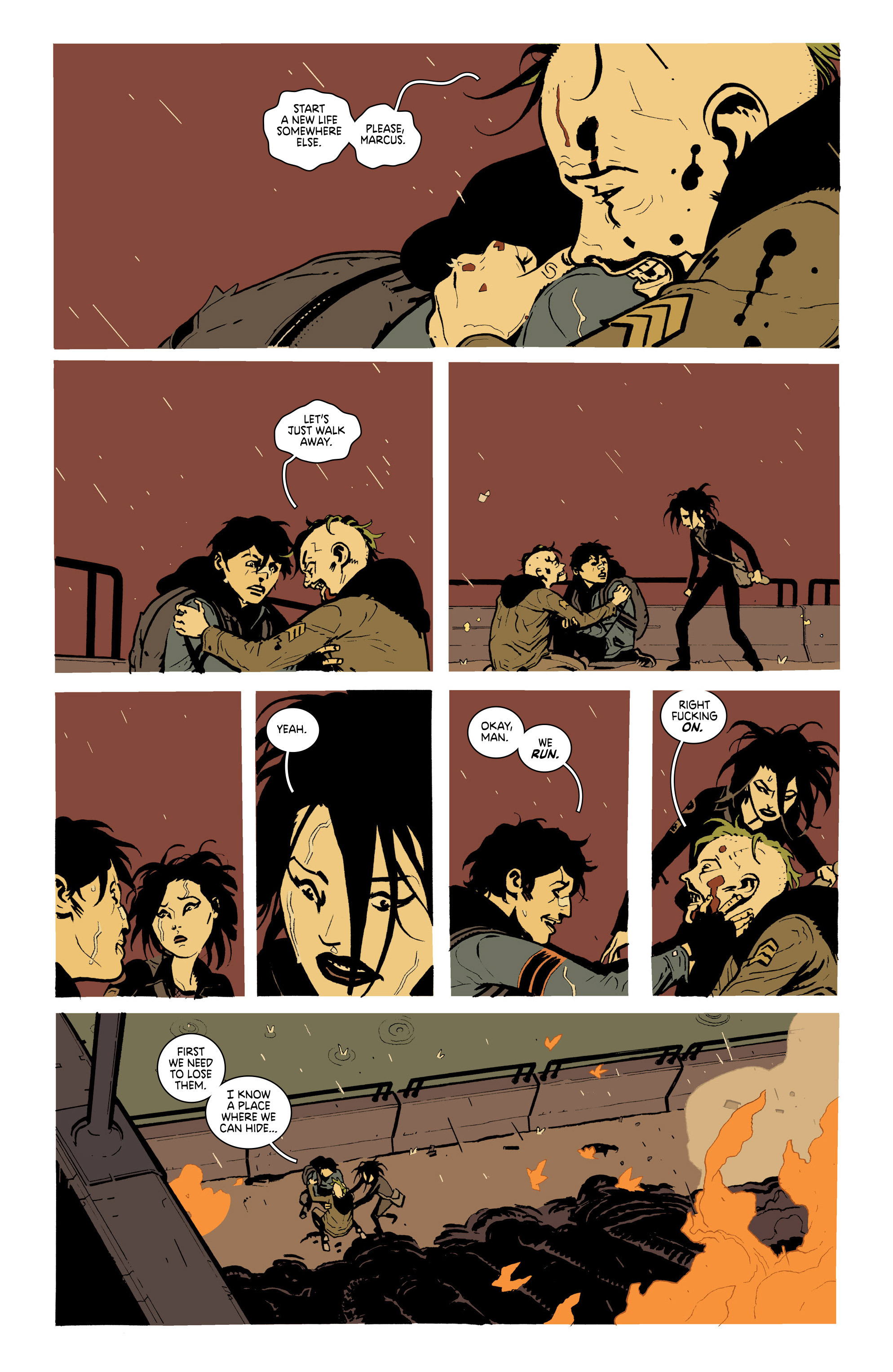 Read online Deadly Class comic -  Issue #19 - 21