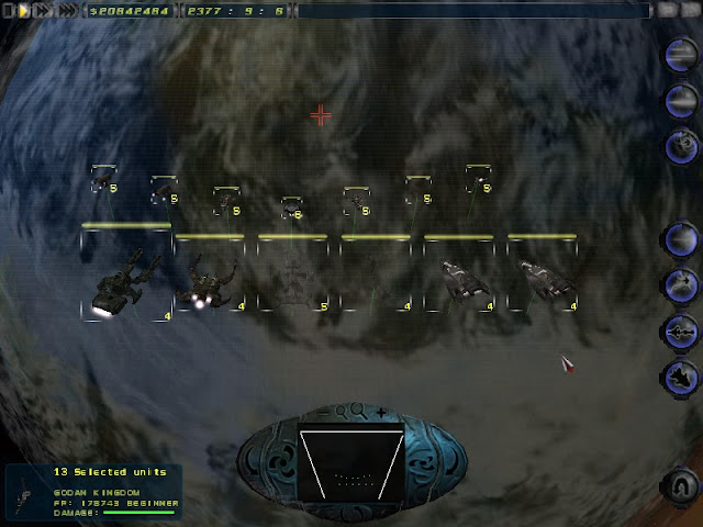 Imperium Galactica 2 - Orbital Battle Screenshot