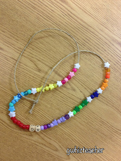 Multiple Intelligences, MI celebration, Smart necklaces, gwhizteacher, brain mapping