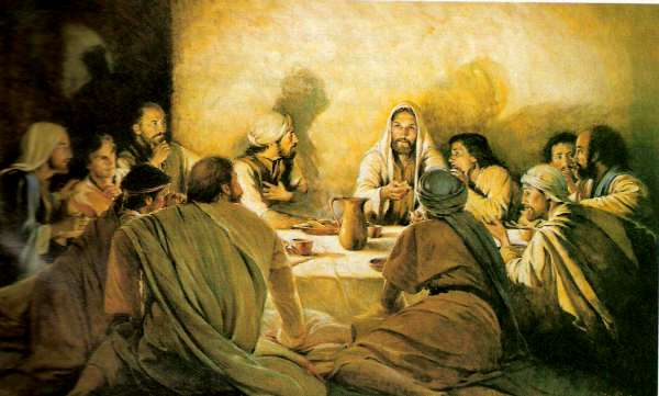 Jesus en la ultima cena