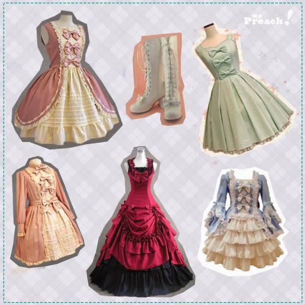vestidos estilo boneca - fantasia para o dia das bruxas