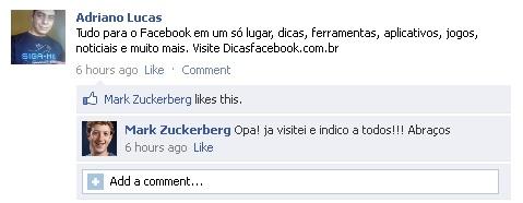 falsas postagens mural facebook