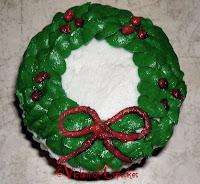 Christmas Wreath Cupcake