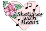 ALL NEW Sketch Challenge with Heart Song Designs!!