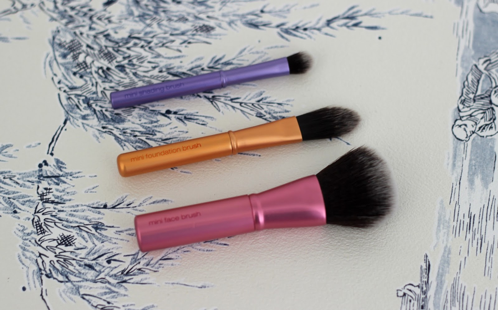 Real Techniques Mini Brush Trio Review