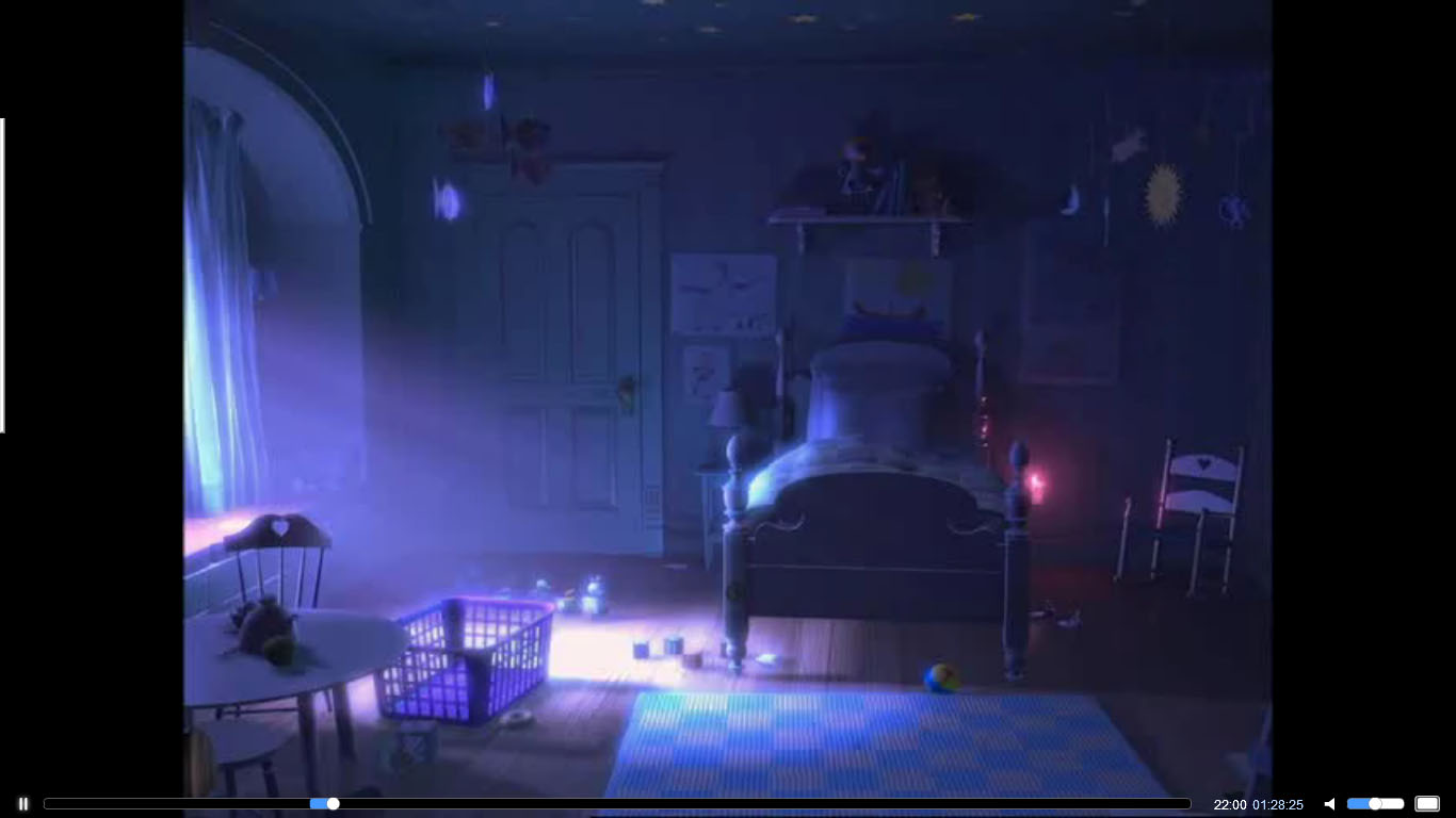 image showing how the natural lightening effects the bedroom