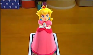 Princess Peach AR Card