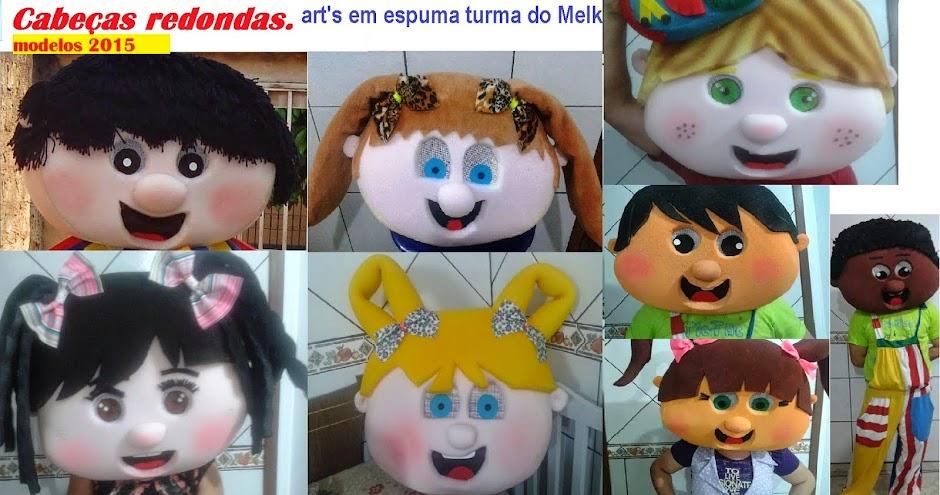 ART'S EM ESPUMA TURMA DO MELK