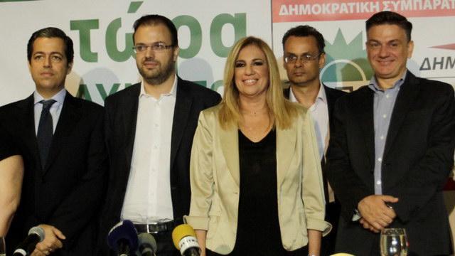 Τα ψηφοδέλτια της Δημοκρατικής Συμπαράταξης ΠΑΣΟΚ - ΔΗΜΑΡ στην Αν. Μακεδονία και Θράκη
