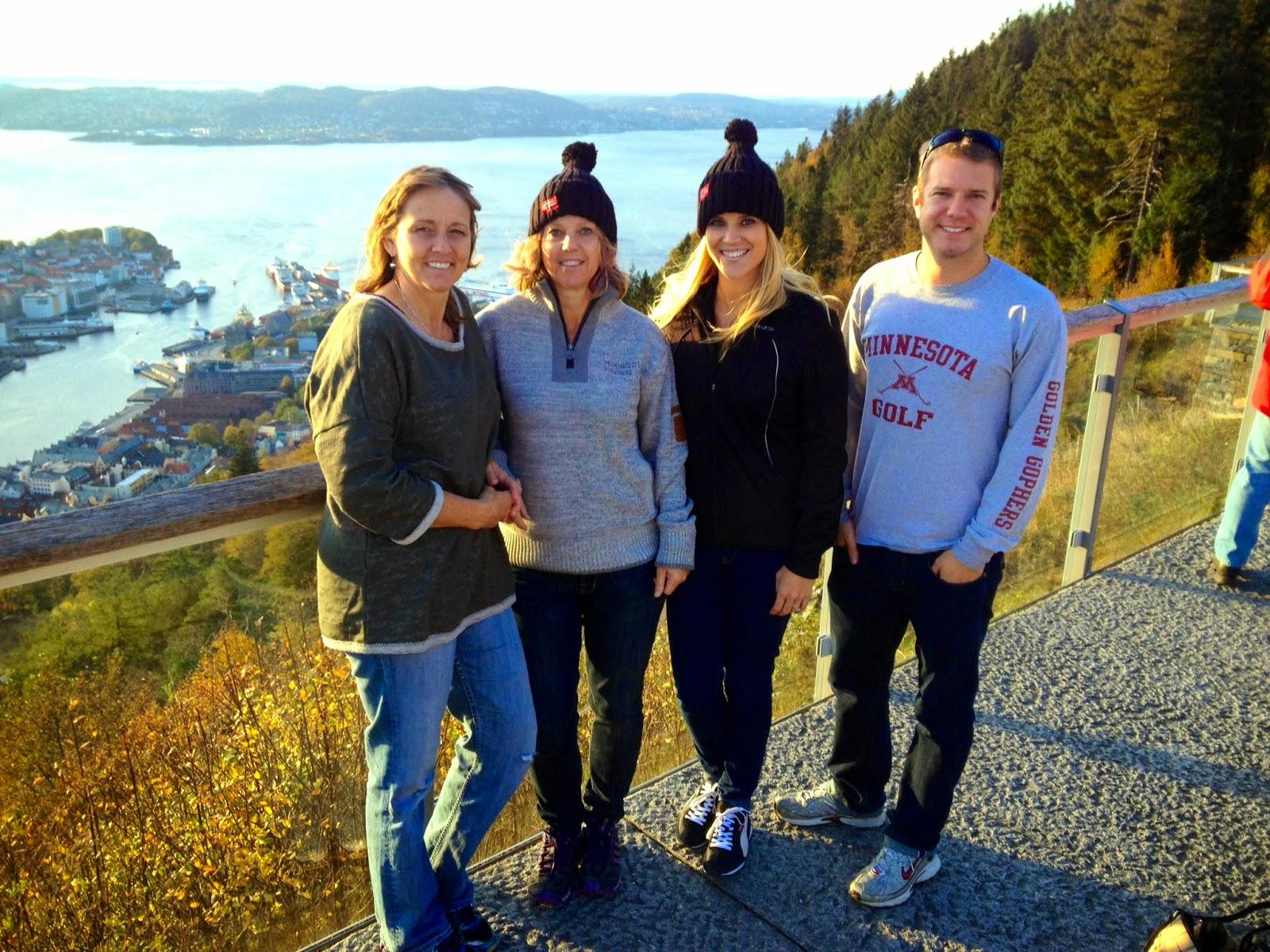 hiking in Bergen, Norway