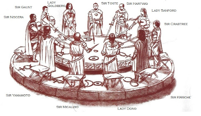 Just like cooking february 2012 - King arthur s round table found ...