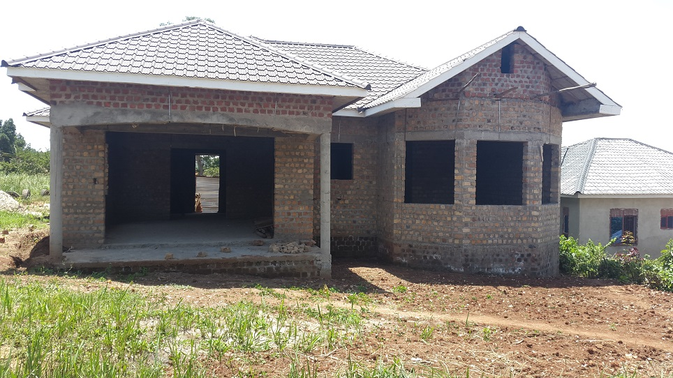 Houses for sale kampala uganda unfinished house for sale for Cost of building a 3 bedroom house in uganda
