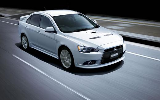 Pre Owned White 2012 Mitsubishi Lancer TC-SST Ralliart AWD Review ...