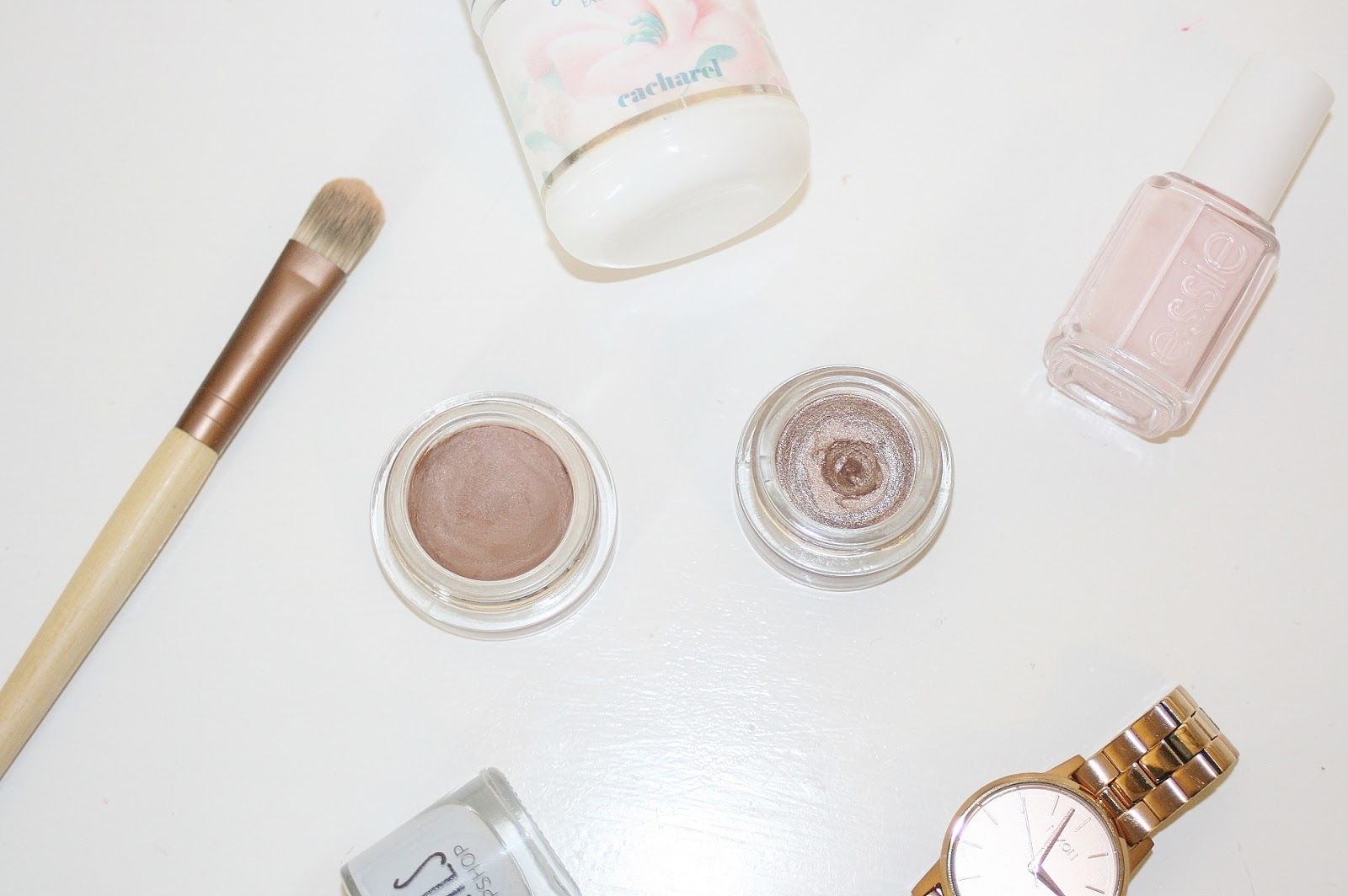Katherine Penney Chic Cream Eyeshadows Perfect Pair Drugstore Makeup Beauty Review