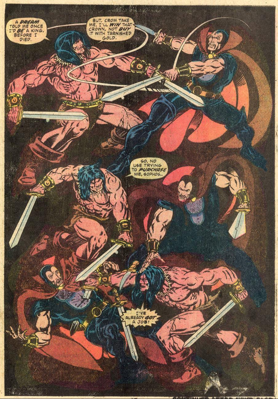 Conan the Barbarian (1970) Issue #64 #76 - English 18