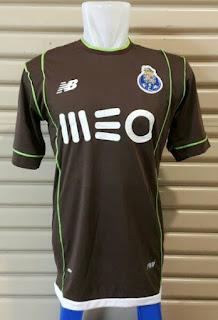 Jersey FC Porto away leaked terbaru musim 2015/2016