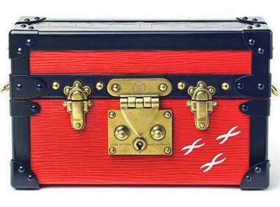 Petit Malle miniversão de baú de Kahn da Louis Vuitton