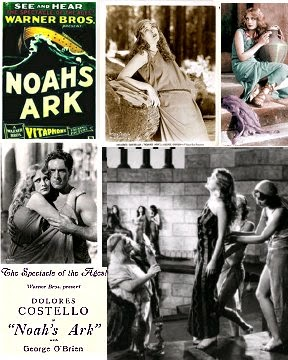 Noah's Ark (1929) Delores Costello, George O'Brien FREE ship USA
