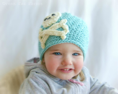 https://www.etsy.com/listing/213079847/rts-baby-pirate-beanie-aqua-wool-blend
