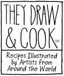 My Illustrations Featured on They Draw & Cook:
