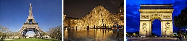 Casamento - viagem internacional de lua-de-mel - França - Paris