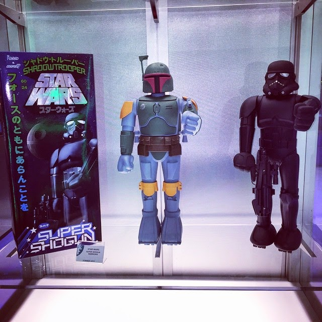 Toy Fair 1st Look: Boba Fett & Shadowtrooper Super Shoguns by Super7 & Funko