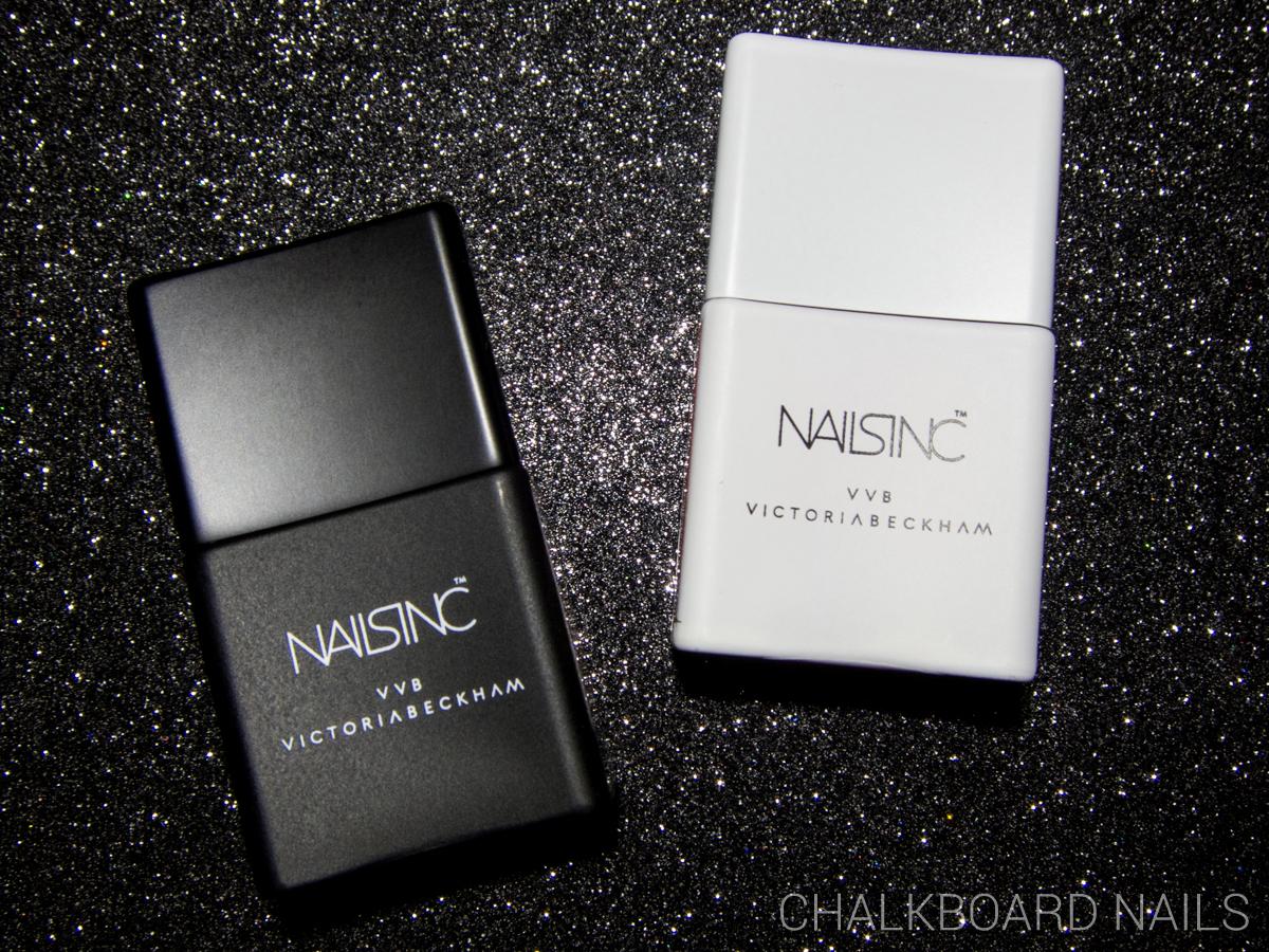 Nails Inc x Victoria Beckham via @chalkboardnails
