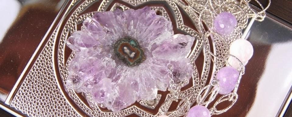 Мои ювелирные работы из натуральных полудрагоценных камней.