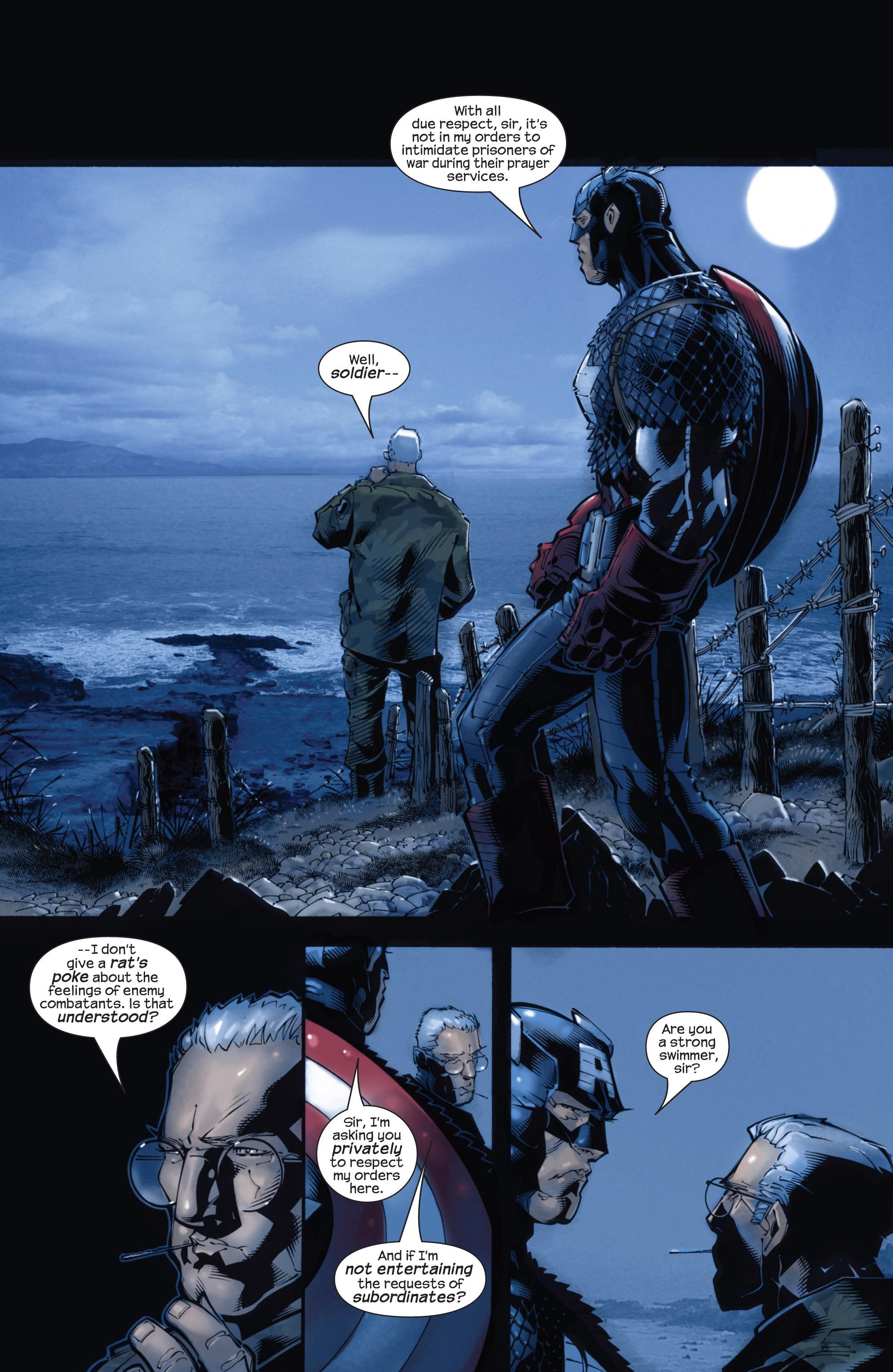Captain America (2002) Issue #22 #23 - English 15