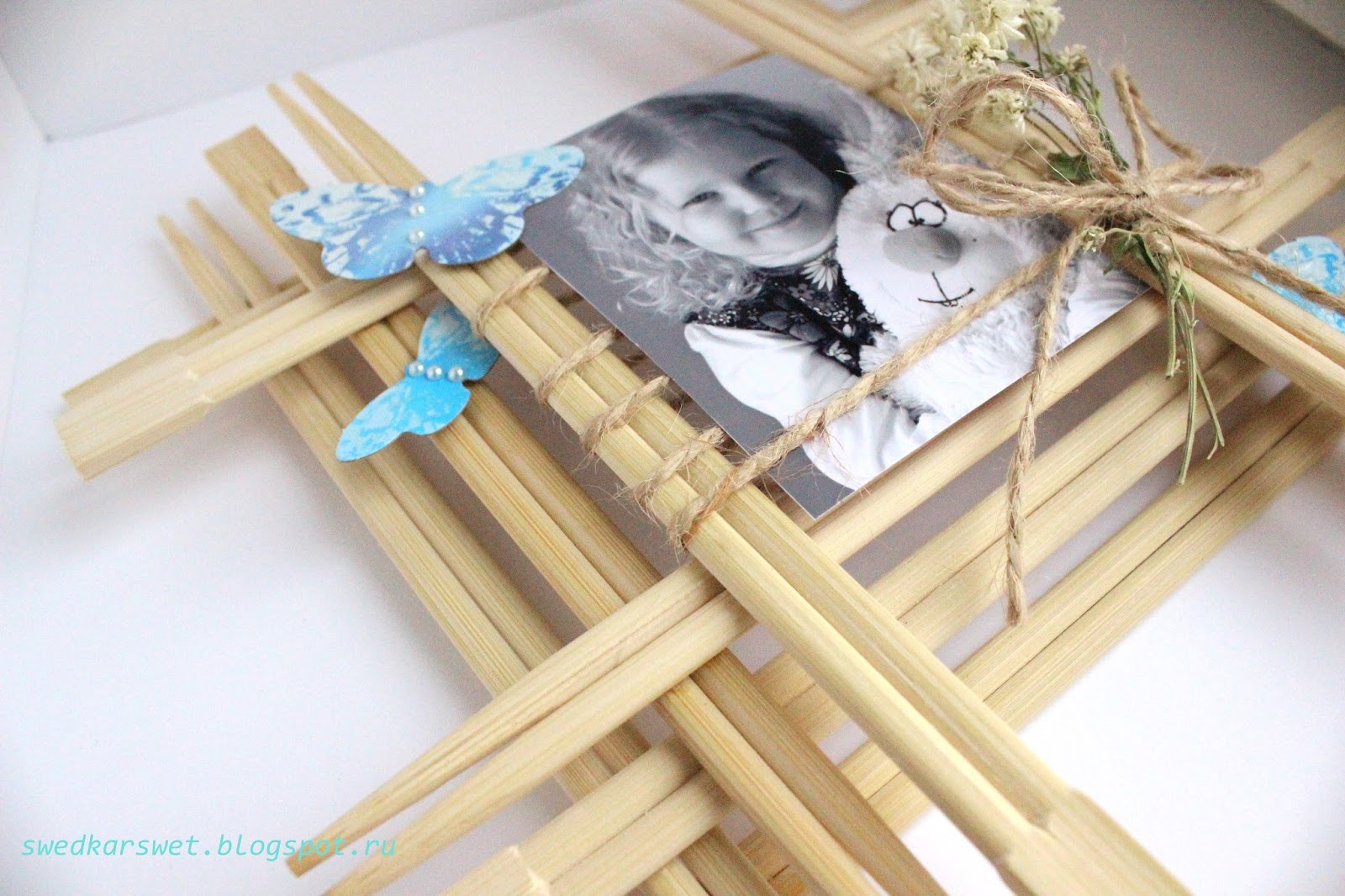 Веер из палочек для суши своими руками 66