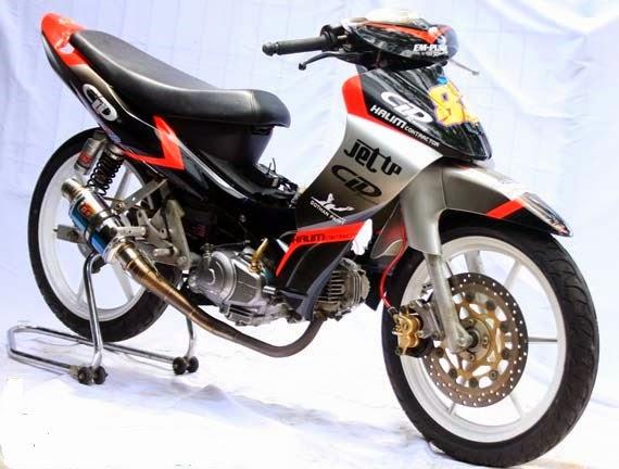 modifikasi motor yamaha jupiter z terbaru