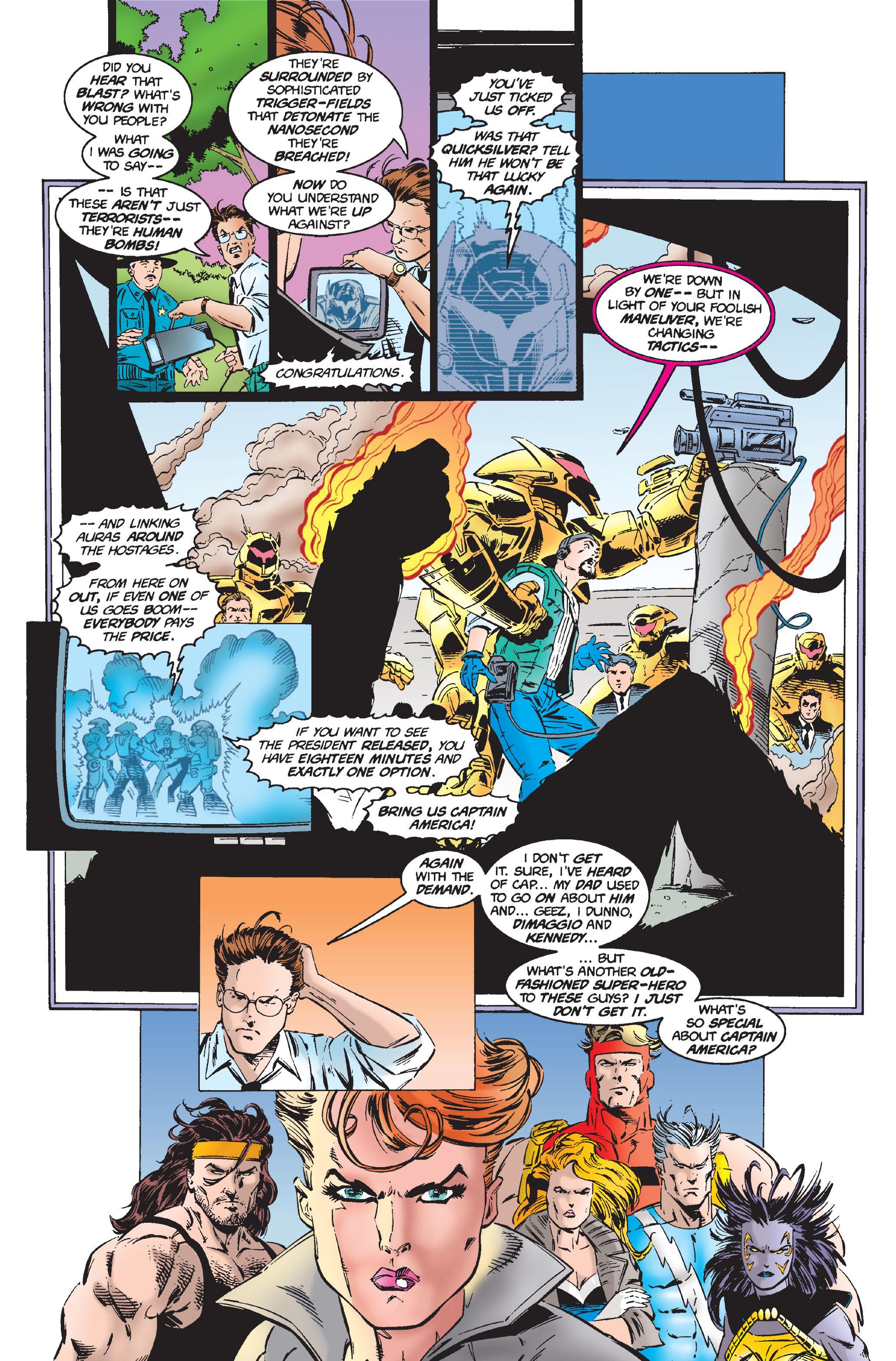 Captain America (1968) Issue #444 #398 - English 6