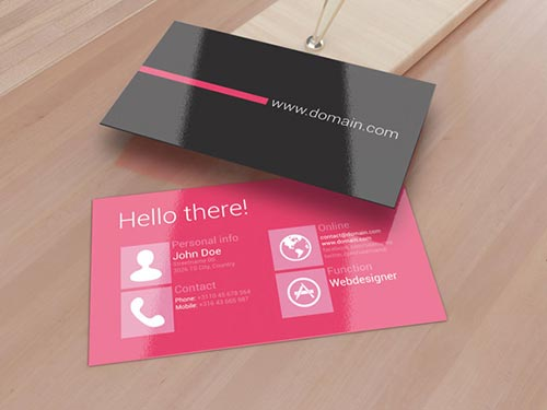 Metro Style Business Cards