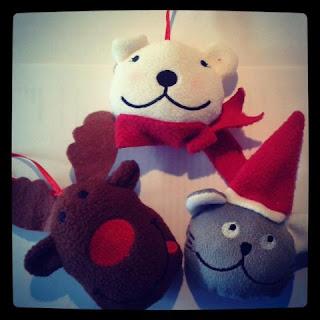 Del Arte: peluches Noël gratuites